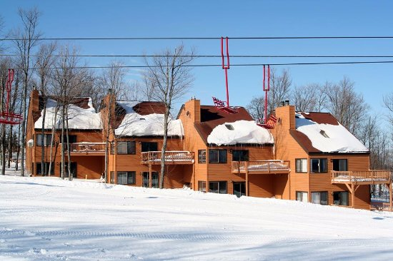 Wakefield, MI: Trailside condos at Indianhead.