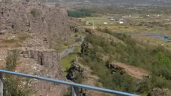 Mosfellsbaer, Islândia: Kontinentalplattorna möts