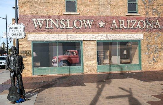 Winslow, AZ: Standin' on the Corner.