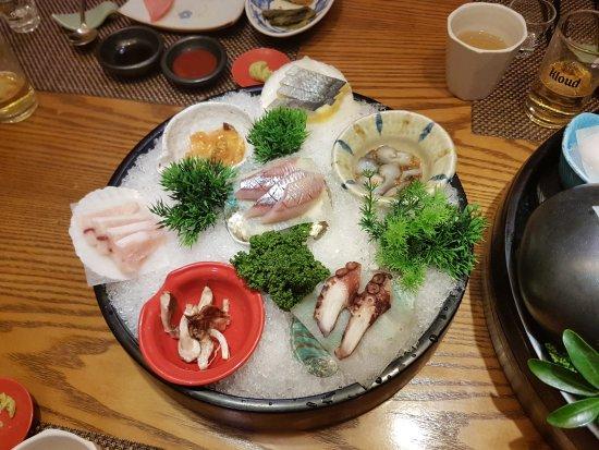 Hwaseong, Sør-Korea: Sashimi