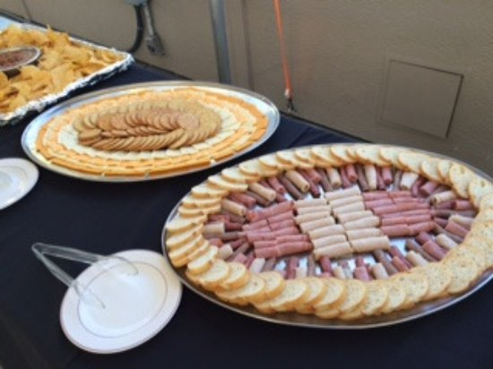On Deck Sports Bar u0026 Grill Catered Event in our Canopy - Meat u0026 Cheese & Catered Event in our Canopy - Meat u0026 Cheese Trays - Picture of On ...