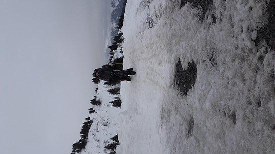 Samoens, France: En vtt sur la neige , une expérience à faire