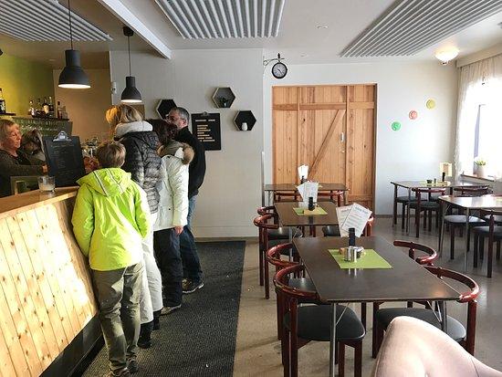 Borgarnes, Island: L'interno
