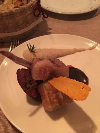 Saint-Martin-de-Belleville, France: Lamb 3 Ways with Artichoke Puree