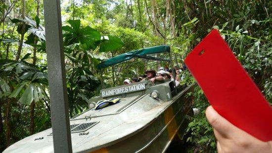 Kuranda, Coach, and Skyrail Tour: Duck excursion