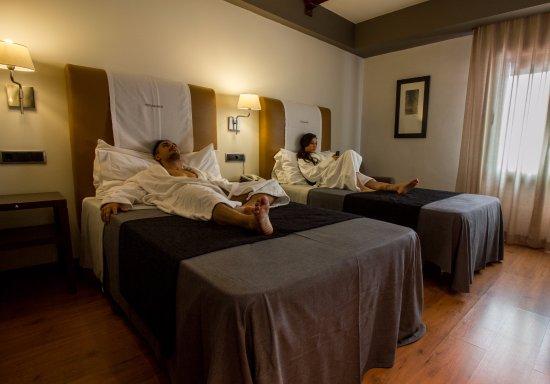 Hotel & Spa Balfagon: doble 2 camas