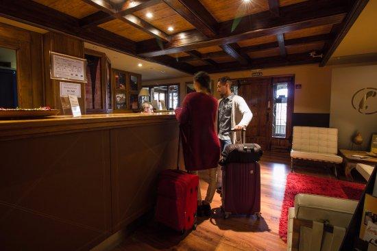 Hotel & Spa Balfagon: recepción