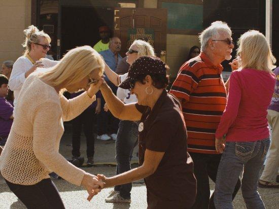Louisiana's Cajun Bayou, LA: Festivals turn main street into a dance hall.