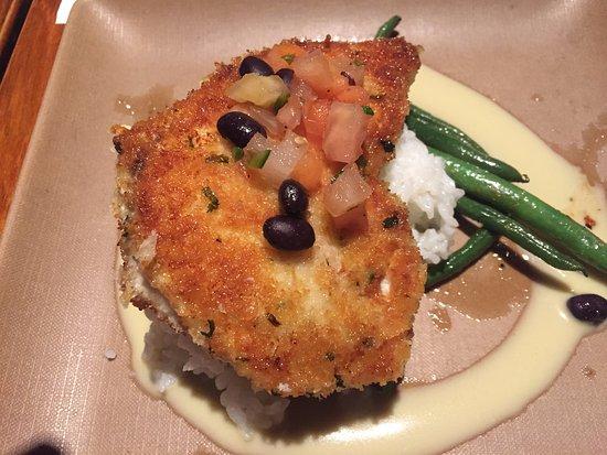 Chef's Fish Plate of the Day (Marlin) - Keoki's Paradise, Poipu HI