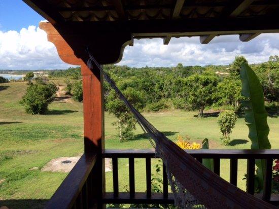 Pousada do Outeiro: Vista desde el balcon de la habitacion