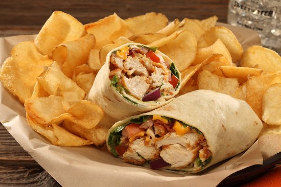 how to make fried chicken wraps