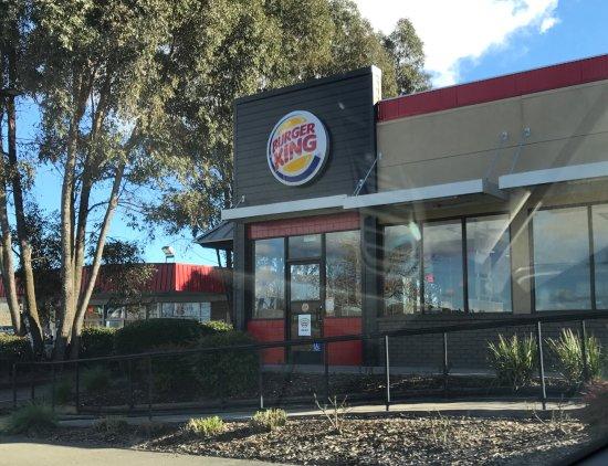 Ukiah, Калифорния: Burger King - 2017