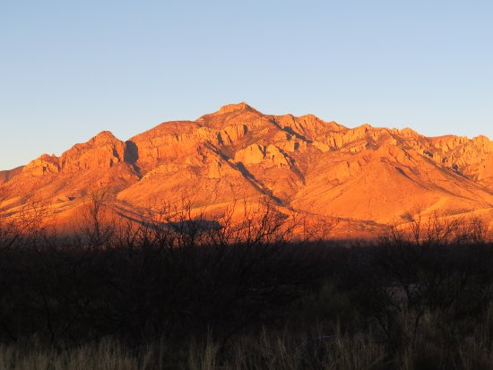 Portal, AZ: Sunrise is a special time of beauty and serenity.