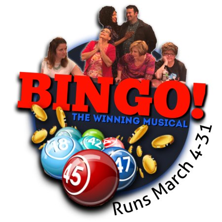 Greensboro, Carolina do Norte: BINGO! The Winning Musical runs March 4-31, 2017