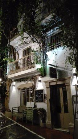La Casa Tua, façade extérieure