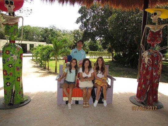 Quintana Roo, Mexique : Puestos comerciales.