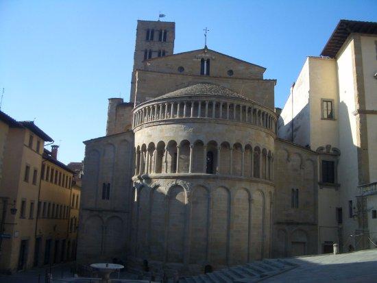 Arezzo, Italien: piazza grande