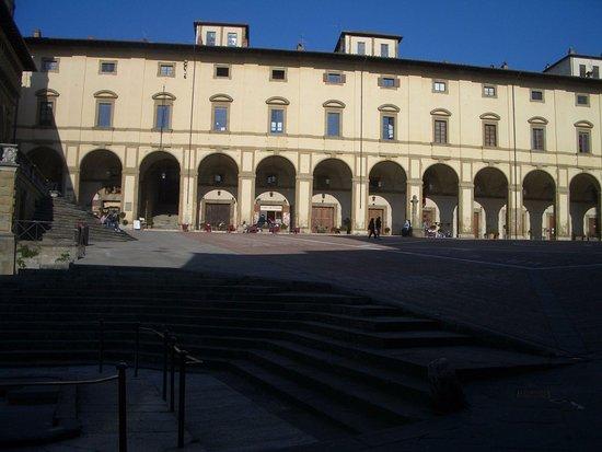 Arezzo, Italien: logge del Vasari