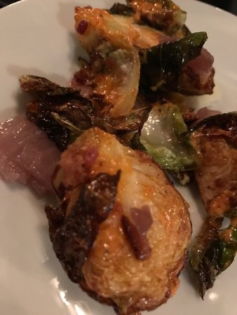 Cork & Fork: Crispy Brussel Sprouts - Recommended!