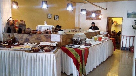 Hotel Estelar del Titicaca: Comedor variado
