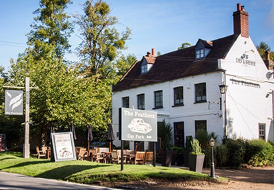 Slough, UK: The Feathers, Taplow