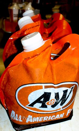 Portage, WI : Take home a gallon of A&W Root Beer--made fresh daily at this A&W.