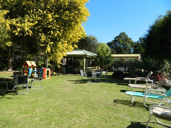 Mallacoota, Australien: Amply spacious garden seating