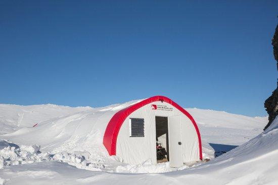 Квинстаун, Новая Зеландия: Our base on the Garvie Mountains.