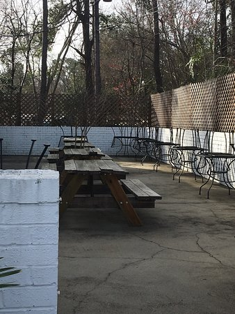 Summerville, SC: Eager for outside seating to open for the season!