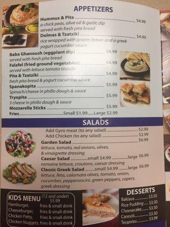 Santorini Mediterranean Restaurant Gainesville Restaurant Reviews