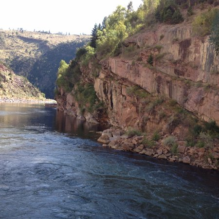 Rock Springs, WY: Downstream from the dam
