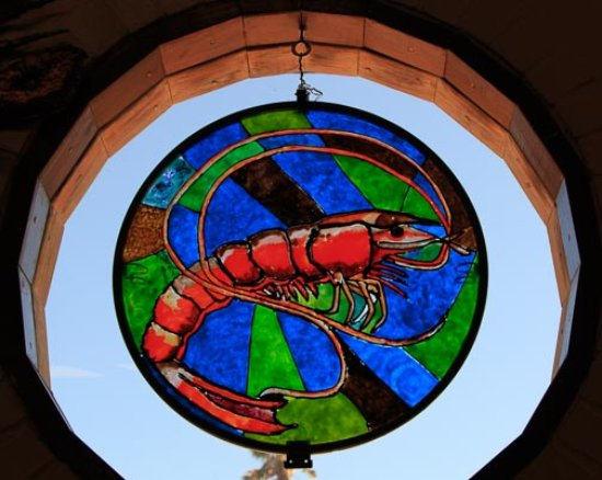 """Port Isabel, TX: One of the colorful """"windows"""""""