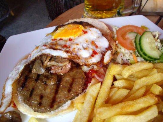 Hengelo, Países Bajos: Burger meal