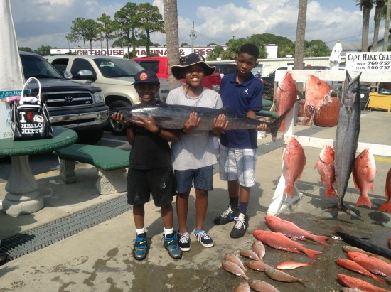 Captain Hank Charters: These guys had a great time!