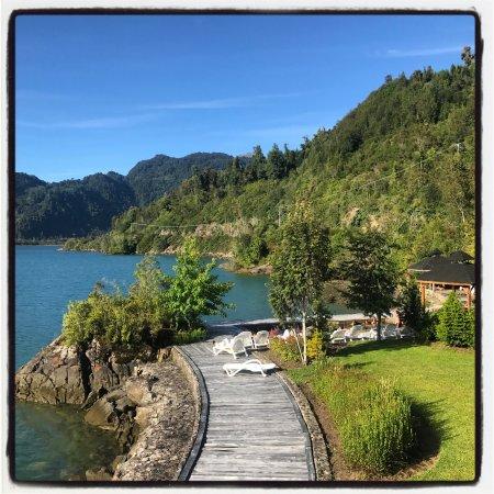 Puyuhuapi, ชิลี: Una vista espectacular