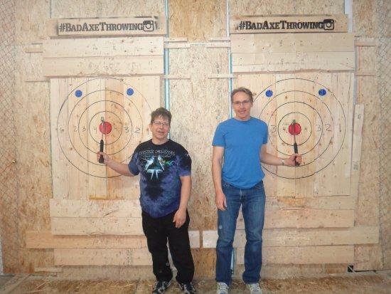 Burlington, Canada: our double bulls eye guys!
