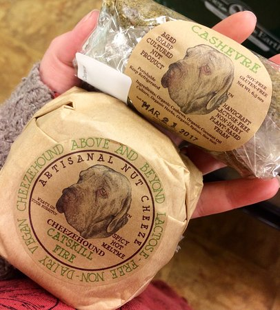 Kingston, NY: Lots of vegan finds including vegan fancy cheese!