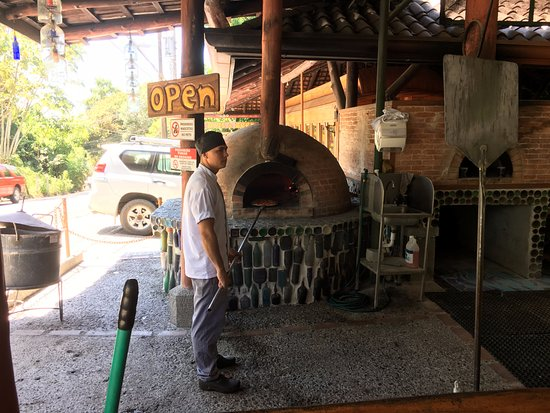 El Wagon: Four à pizza