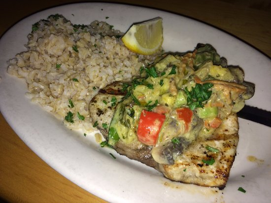 Rutland, VT: Green Curry Swordfish