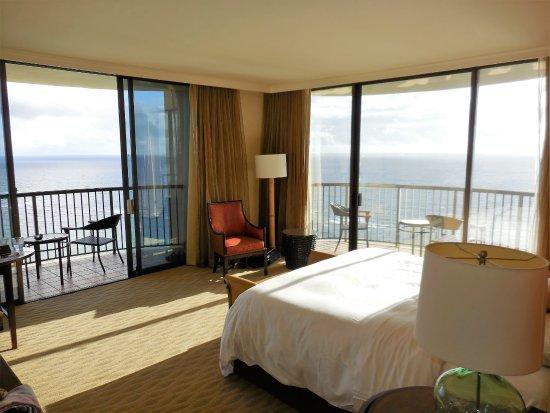 Hilton Hawaiian Village Waikiki Beach Resort View Of Our Room In Rainbow Tower