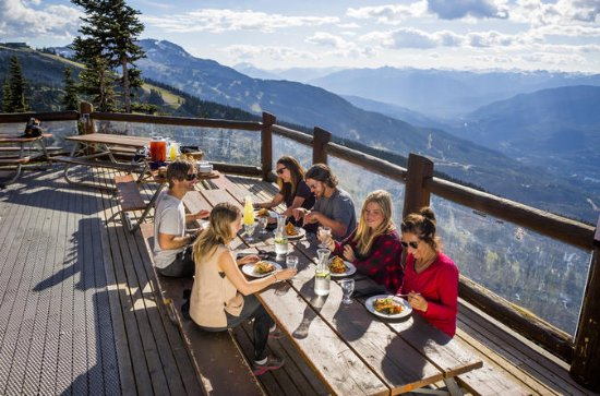 Whistler Blackcomb Salmon Bake Dinner