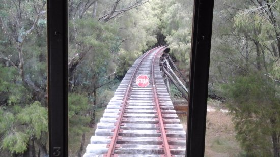 The End Of the Line....Pemberton Tramway...taken from the tram