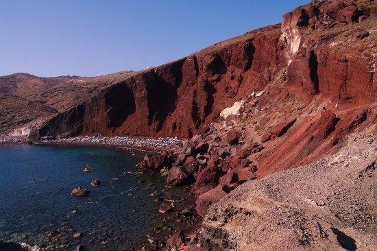Ακρωτήρι, Ελλάδα: Red Beach