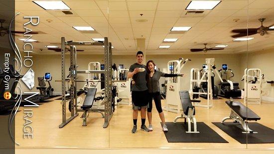 Rancho Mirage, CA: Spacious, empty gym at 9PM!