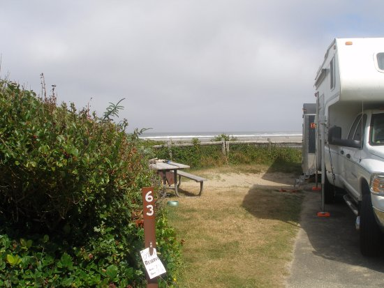 Beachside State Park : Site 63, best ocean view
