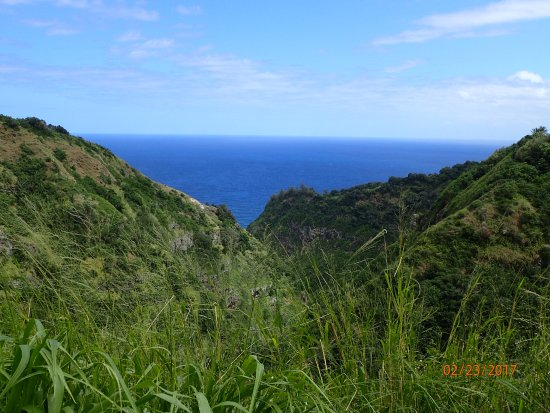 Makawao, Hawaje: The beginning and the end of the trail!