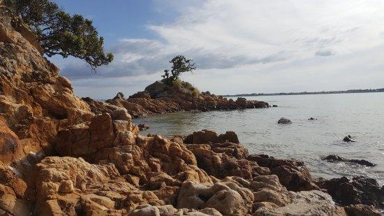 Karikari Peninsula, Nouvelle-Zélande : Left hand side of beach