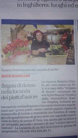 Massafra, Italia: Locanda Zia Rirì