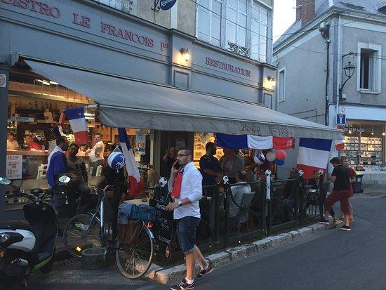 Le fran ois 1er amboise restaurant avis num ro de for Restaurant le 36 amboise