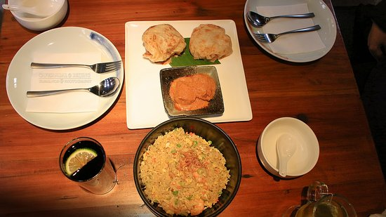 Cafe Sambal : Our dishes.. yum yum